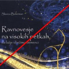 Odpade predstavitev knjige Slavice Biderman